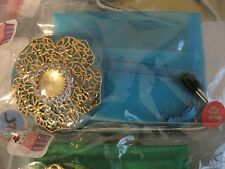 "JC Table Counter Bar Top Bag Purse Hook Hanger "" Cats Eye "" COA"