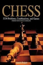 Chess : 5334 Problems, Combinations, and Games by Laszlo Polgar HARDCOVER