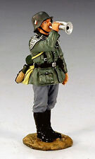KING & COUNTRY FIELDS OF BATTLE FOB059 GERMAN WEHRMACHT BUGLER MIB