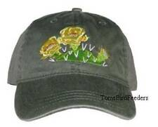 Prickly Pear Cactus Embroidered Cotton Cap NEW Hat Desert Flower Opuntia