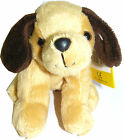 Ark Toys Small Plush Bean Bag Soft Toy Plush DOG (Light/Dark Ears) 12cm