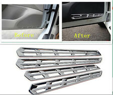 Chrome Interior Door Speaker Frame Cover Trim 4pcs for VW Golf 7 MK7 2014 2015