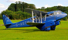 1/6 Scale DH-89A DRAGON RAPIDE scratch build r/c Plane Plans 96 in. wing span