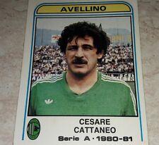 FIGURINA CALCIATORI PANINI 1980/81 AVELLINO CATTANEO N° 44 ALBUM 1981