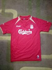 Liverpool T-shirt with cup match T-shirt 2005 - 2006 Jersey RARE MAGLIA