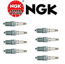 Set of 8 NGK TR55 V-Power Premium Copper Spark Plugs for Ford E-150 Econoline