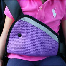 Baby Care Car Seat Safety Belt Triangle Protect Children Car Safety Belt Purple