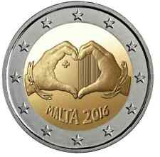 2 euro coin Malta 2016 Children and Solidarity