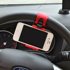 Phone mobile GPS electronic navigation Car steering wheel holder support