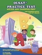OLSAT(r) PRACTICE TEST Gifted and Talented Prep for Kindergarten and 1st...