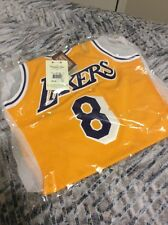 NEW KOBE BRYANT 1996-97 Authentic Jersey Mitchell & Ness #8 LAKERS 36 Small