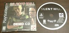 ULTRA RARE SILENT HILL DEMO PS1 PS2 PS3 PLAYSTATTION PROMO PSX KONAMI KOJIMA