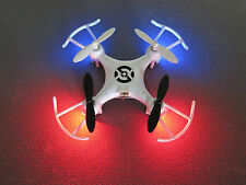 CTW X6 2015 Nano Drone (WHITE) 2.4ghz Stable quadcopter w/adult size controller