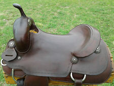 "16.5"" Silver Mesa Cutting Saddle (Made in Texas)"