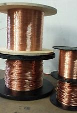 24 AWG Bare copper wire - 24 gauge solid bare copper - 100 ft