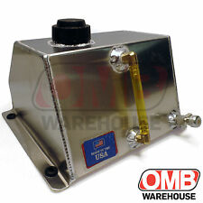"Aluminum Go Kart Racing Fuel Tank 6"" x 7-1/2"" x 5"" (4 QT) Low Profile Sprint"