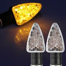 4x CARCHET 15 LED Turn Signal Indicator Light Lamp Bulb for Motorcycle Amber
