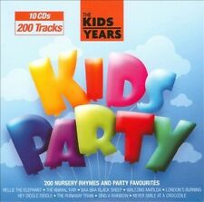 THE KIDS YEARS: KIDS PARTY [1 DISC] NEW CD