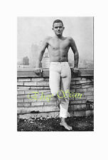 1950's PHOTO NEAR NUDE MAN BULGES BY WALL GAY INTEREST 7