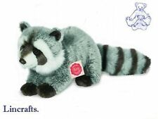 Standing Raccoon Plush Soft Toy by Teddy Hermann Collection 92529
