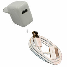Apple iPad 2 3G USB Datenkabel + PowerAdapter EU-Stecker Charge 10W 2.1A