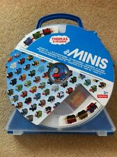 Thomas & Friends Minis Collectors Play Wheel Case & Gold Thomas Mini New Sealed