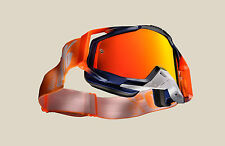 OCCHIALI MASCHERA CROSS 100% RACECRAFT CRUSH + TEAR OFF