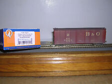 """FOX VALLEY  Baltimore & Ohio """"Capitol Dome"""" R.R.Box Car #381243 Weathered"""