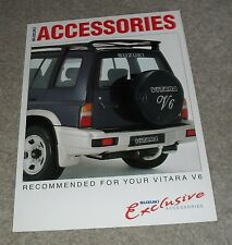 Suzuki Vitara V6 Accessories Brochure 1995