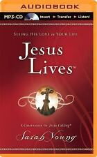 Jesus Lives : Seeing His Love in Your Life by Sarah Young (2014, MP3 CD,...