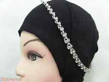 HAIR CHAIN SILVER MATHA PATTI HEAD PIECE SCARF HIJAB NEW BOLLYWOOD JEWELLERY