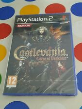 CASTLEVANIA CURSE OF DARKNESS - PAL ESPAÑA - PS2 - RARE