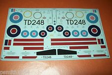 AIRFIX  CLUB SPITFIRE 05116  1:48 scale decals