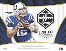 2016 Indianapolis Colts Panini Limited Football Case Break 5X Boxes #3