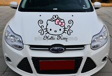 F11 Hello Kitty Car Door Mirror Laptop Truck Motor Graphics Vinyl Decal Sticker