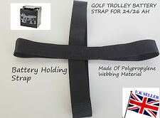 Golf trolley Battery Strap for 24/26 Ah 30-36 Ah 17-21Ah Golf Trolley Batteries