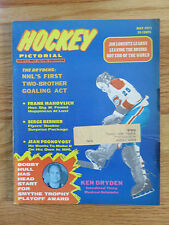 Hockey Pictorial May 1971 KEN DRYDEN MONTREAL CANADIENS Magazine