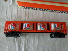 """O"" 0/27  LIONEL LINES VAT CAR WITH SIMULATED WOOD VATS"