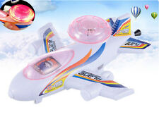 2015 Baby Educational Magic Flash Toy Pull-emitting Little Light Planes Toy