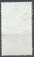 1950 ITALIA USATO ITALIA AL LAVORO 40 LIRE FILIGRANA LETTERA - ED01