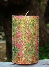 150hr GLITTER SPARKLE CHRISTMAS CANDLES Dozens of Festive Scents to Choose from