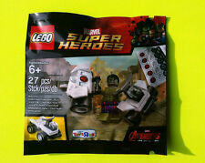 LEGO MARVEL SUPER HEROES 5003084 HULK CON AUTO POLYBAG NUOVO OVP