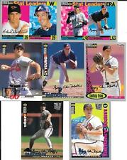 GREG MADDUX   (7)  1994-95 COLLECTOR'S CHOICE SILVER SIGNATURES