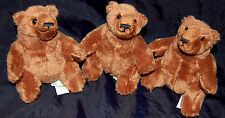 3 Teddy Bären Plüschbär  Flauschbär Teddybär  NEU  int. Nr.728
