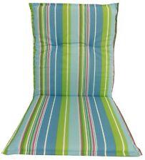 Costura Respaldo bajo Tapicería para Muebles de jardín en azul claro verde