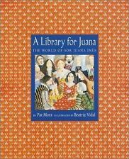 A Library for Juana: The World of Sor Juana Ines (Americas Award for C-ExLibrary