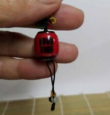 Ceramic Fortune Japanese Lucky Lantern Lamp Cell Phone Charm