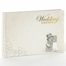Me To You De Lujo Boda Firma Invitados Libro-Tatty Teddy Bear