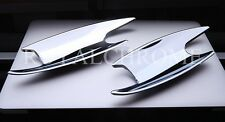 MERCEDES BENZ C CLASS 2 DOOR COUPE W203 CHROME NEW DOOR SCOUPS TRIMS 2000 - 2007