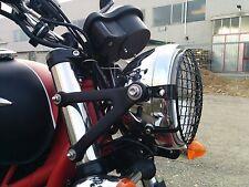 Griglia proteggi faro nera Legend Thunderbird Bonneville Thruxton Triumph